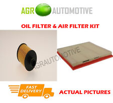 DIESEL SERVICE KIT OIL AIR FILTER FOR VAUXHALL ASTRA 1.3 95 BHP 2009-