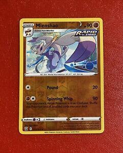 Pokémon TCG Mienshao 77/163 S&S Battle Styles Set Rare Reverse Holo Card NM