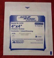 Acti Guaze Island Dressing 4x4 Sterile Gauze 50 Pieces