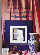 Jill Oxton Cross Stitch Charts Book Cats Borders and Alphabet
