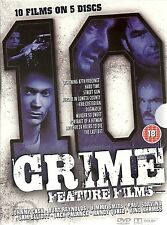 10 CRIME FEATURE FILMS - 5 DVD BOX SET, THE CUSTODIAN, DOGWATCH, HARDTIME & MORE
