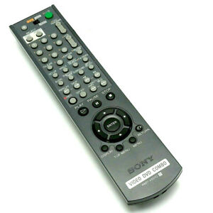 Used Original RMT-V501C For Sony Video DVD Combo Remote Control SLV-D350P D370P