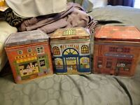 The Tin Box Company of America Canister, sweet shoppe, ice cream, bakery tins