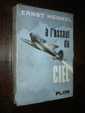A L'ASSAUT DU CIEL - Ernst Heinkel 1955 - Aéronautique Aviation