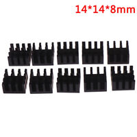 10pcs 14*14*8mm Computer Cooler Radiator Aluminum Heatsink Chip Heat Sink