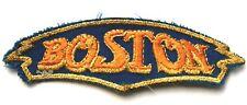 BOSTON Old Original Vintage 1970's Embroidered Patch aufnäher/écusson/parche