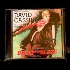 "DAVID CASSIDY READS ""BILLY AND BLAZE"" RARE AUDIOBOOK ON CD LIMITED TIME ONLY"