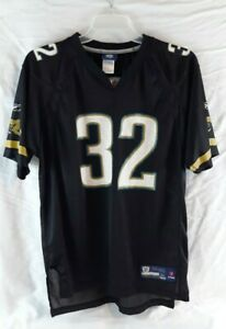 Reebok Womens NFL Jersey Jacksonville Jaguars Jones-Drew Black Size XL