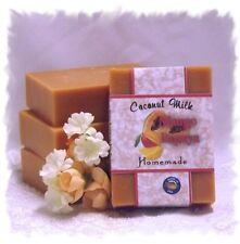 Handmade Homemade Coconut Milk Soap _  Mango Papaya _ Made in Montana