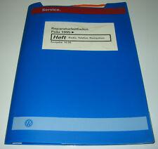 Werkstatthandbuch Elektrik VW Polo III 6N Radio Telefon Navigatio Navi ab 1995!