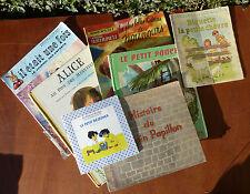 Lote de 7 antiguos libros o álbumes para niñas, libro ancien
