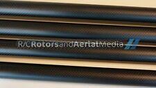 25MM OD X 23MM ID X 1000MM Carbon Fiber Tube Tail Boom Multi Rotor 3K Matte