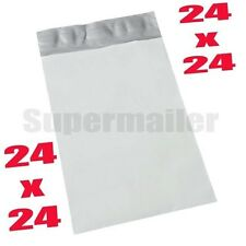 "12 EXTRA LARGE 24"" x 24"" POLY PLASTIC MAILING SHIPPING MAILER BAGS ENVELOPES"