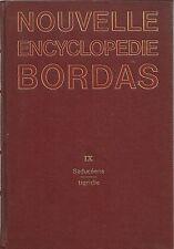 NOUVELLE ENCYCLOPEDIE BORDAS TOME 9 - LISA