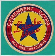 F 717 FROMAGE CAMEMBERT L ETOILE BLEUE