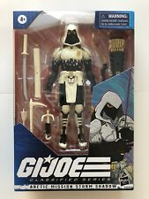 GI Joe Classified Series Arctic Mission Storm Shadow Amazon Exclusive IN HAND
