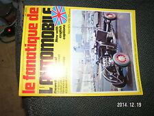 "** Fanatique de l""Automobile n°126 125 Gnome Rhone Zundapp 4 cyl Hudson Avrelia"