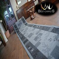 escaliers largeur 67cm-120cm extra long Coureur tapis non-slip agadir rouge moderne