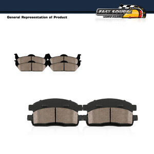 For Ford F-450 F-550 Super Duty Front + Rear Ceramic Brakes