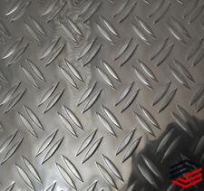 Alu Riffelblech Warzen Tränen 2000x1000x1,5/2mm Duet Aluminium Boden Platte