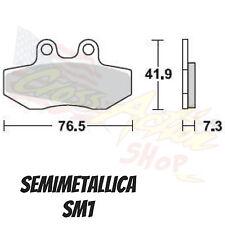 BRAKING PASTIGLIE FRENO BRAKE PADS SM1 FANTIC CABALLERO 125 1997 ANTERIORE FRONT