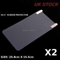 2x 10.1 INCH SCREEN PROTECTOR IT ALLWINNER MEDIATEK GMS ANDROID TABLET PC 32GB