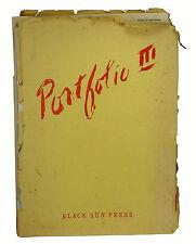 Portfolio III Complete 1946  CHARLES BUKOWSKI 20 Tanks ~ Jean Genet Henry Miller