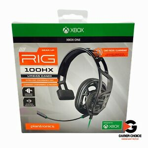 Plantronics RIG 100HX Gaming Headset Mic Full Range - Urban Camo Xbox One