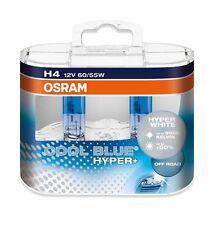 2 x Bombillas Osram Cool Blue Hyper H4 5000K Faros Halogeno Lamparas Luz Coche
