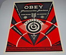"Shepard Fairey ""Propaganda Service Eye"" S/N Art Poster Print - OBEY Giant"
