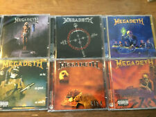 Megadeth [6 CD ALBUM remastered] Peace Sells Rust in risk cryptig writing so far
