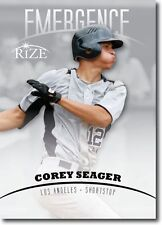 "Corey Seager 2012 Foglia Rize "" Emersione "" Rookie Card! Los Angeles Dodgers"