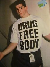 Danny Wood, New Kids on the Block, Corey Haim, Double Full Page Vintage Pinup
