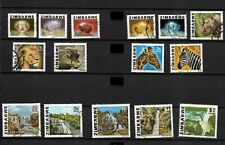 Zimbabwe, 1980, gems, animals, rivers, almost complete set used (Z003)