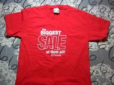 Small- Jcpenney The Biggest Sale Of Them All Hanes Brand T- Shirt