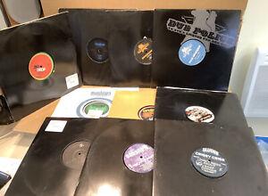"""Job Lot (10) Elctronic Dubstep 12"""" Vinyl"""
