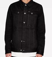 G-Star Raw Black Buttoned Slim Jacket Mens UK Small *Ref49