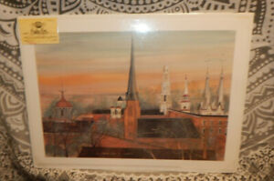 P. Buckley Moss 2000 The Clustered Spires of Frederick Print Signed & Numbered