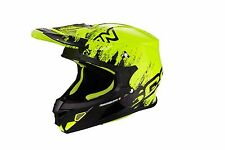 Casco Helm Casque Helmet SCORPION VX-21 MUDIRT GIALLO 2017 S