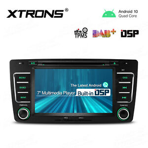 """7"""" Android 10.0 GPS Car Stereo DVD Player Head Unit DSP for Skoda Octavia Yeti"""