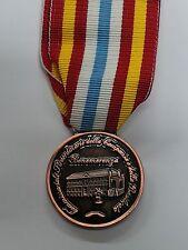 MEDAGLIA COLOR BRONZO TERREMOTO IRPINIA CAMPANIA 1980 ONOREFICIENZA DECORAZIONE