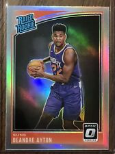 DeAndre Ayton 2018-19 Donruss Optic Holo Rated Rookie Card #157 Suns