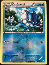 Pokemon Card Croaporal 47/162 Reverse Switch Reflex Blue Xy8 Front Steering