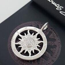 THOMAS SABO ❤ Amulett Sonne Kette Anhänger Silber 925 Silver Sun Charm Club NEU