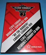 Captain Chris' Close Combat Training,Self Defense For Women's Experience (3 Dvd)