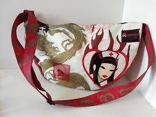 Rare First Line Vadobag Tokidoki Nylon Shoulder Bag Simone Legno Design