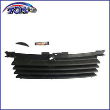 FRONT EURO BLACK BADGELESS GRILL W/ HOOD NOTCH FILLER 99-05 VW JETTA BORA MK4
