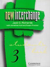 Cambridge nuevo intercambio 3 Student's Book inglés para la comunicación Int 'l @New @
