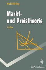 Markt- und Preistheorie von Wied-Nebbeling, Susanne | Buch | Zustand gut