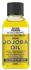 Golden Jojoba Carrier Oil 100% Pure & Natural Certified 30ml Best Quality UK